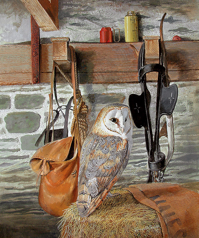 The Owl Barn by Kenneth Smith